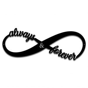 Always and Forever infinity band